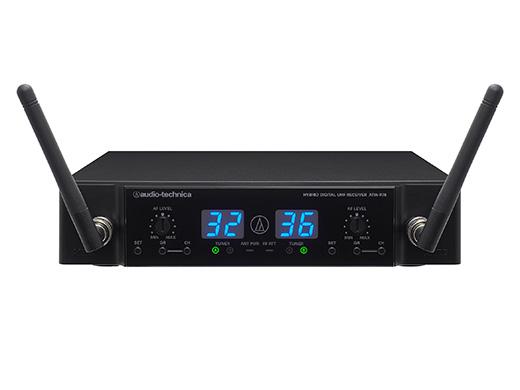 【送料無料】マイクロフォンレシーバー ATW-R76 ワイヤレスマイク オーディオテクニカ audio-tecnica 業務用電波式ワイヤレスマイク用受信機UHFワイヤレスレシーバー