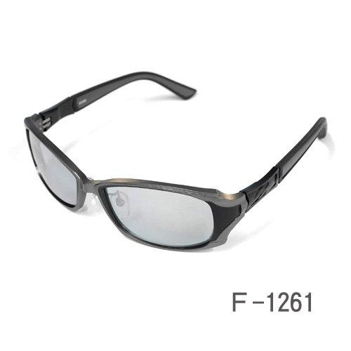 ジール ドムス ZEAL DOMS F-1261 マスターブルー シルバーミラー ジール 偏光 サングラス ミラー UV 紫外線 反射 ジール オプティクス メンズ レディース ドライブ 釣り アウトドア 送料無料