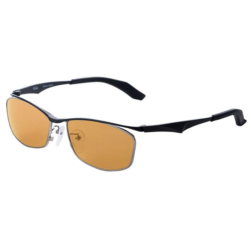 ZEAL OPTICS(ジールオプティクス) Walz ワルツ F-1585 ブラック ラスターオレンジ サングラス 偏光 ミラー UV 紫外線 反射 メンズ レディース ドライブ 釣り アウトドア 送料無料