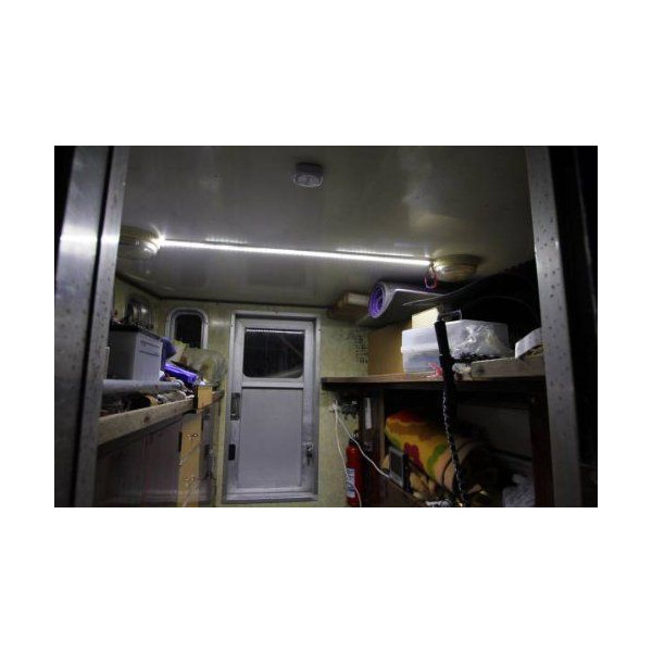 海洋船舶 LED 塑膠 DC24v1m DC12V/直流 24v) 易於安裝 !防水 !無噪音 !