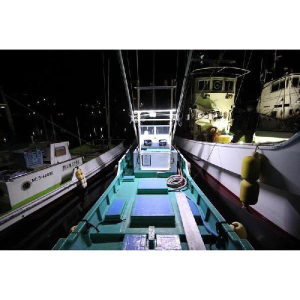 海洋船舶 LED 塑料 DC24v1m DC12V/DC24V) 易于安装 !防水 !无噪音 !