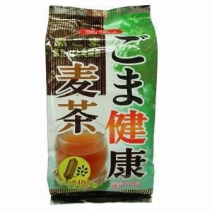 国内産の大麦をじっくり麦の芯まで焙煎した香り豊かな麦茶に焙煎黒ゴマの成分が抽出しやすいように挽き割り加工をほどこして調合 ごま健康麦茶 12.5g×40袋入黒豆とハトムギを調合したブレンド茶 マート 黒胡麻 健康志向の方にオススメ プラチナSHOP プラチナショップ 返品不可 はと麦使用しています