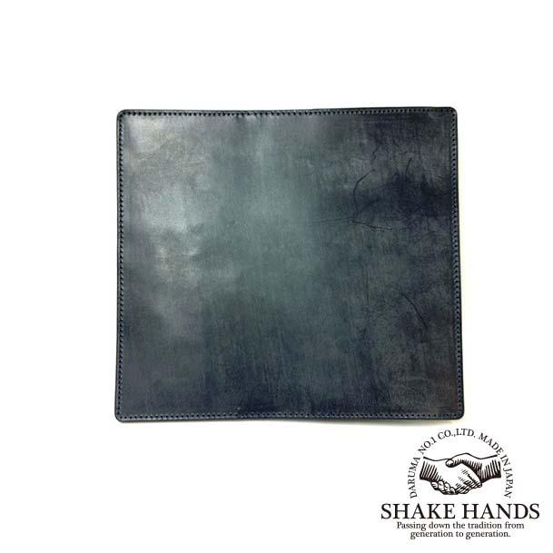 【SHAKE HANDS】シェイクハンズ SHLW-TRE(NAVY)ブライドルレザーレザー(ネイビー)/ロングウォレット