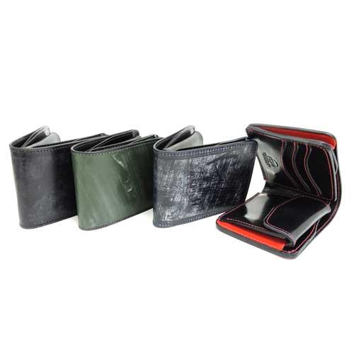 【SHAKE HANDS】シェイクハンズ SHSW-TRE-BRIDLE/ブライドルレザーショートウォレット/本革/財布/二つ折り財布/ショート/ブライドルレザー/コインあり
