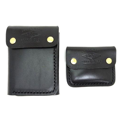 黒羽 クロウ 送料無料BH3 ADVナチュラルダブルバット サドルプルアップレザー カード入れ コインケースセットF351JTlcuK