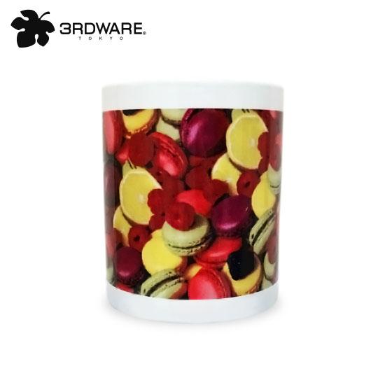 【正規取り扱い店舗】【あす楽】 【3RDWARE】サードウェア【あす楽】Macaron fruits MUG「マカロンフルーツ柄」3RDWARE マグカップ/マカロン