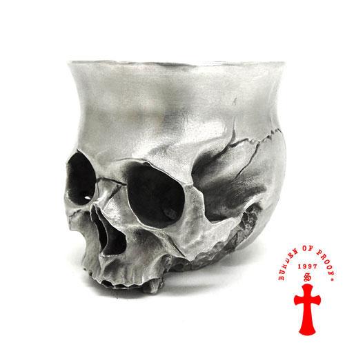 【BURDEN OF PROOF】バーデンオブプルーフ/ロックグラス/BOFP-213/スカルデザイン/スカル/骸骨/グラス