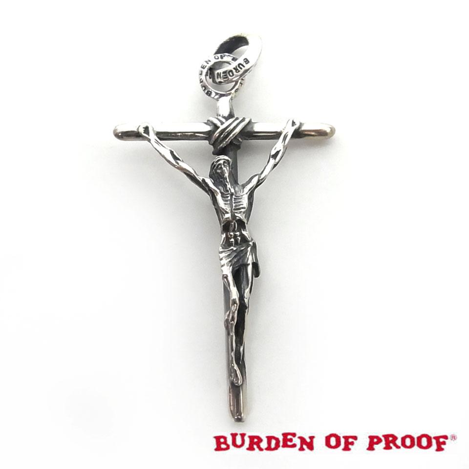 【BURDEN OF PROOF】バーデンオブプルーフスティックジーザスシルバーペンダント