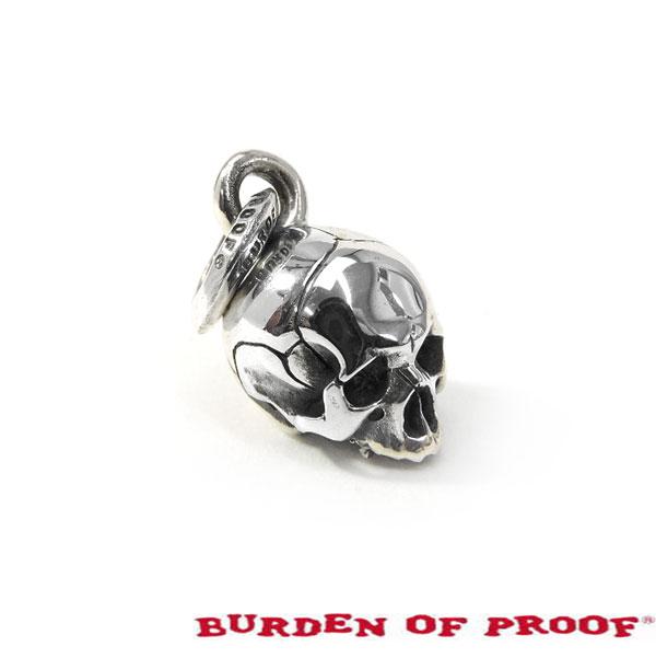 【BURDEN OF PROOF】バーデンオブプルーフマカダミアスカルヘッドオンリー/シルバー/ペンダント