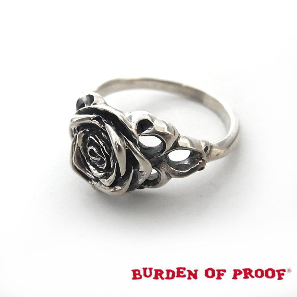 【BURDEN OF PROOF】バーデンオブプルーフローズ・シルバーリング