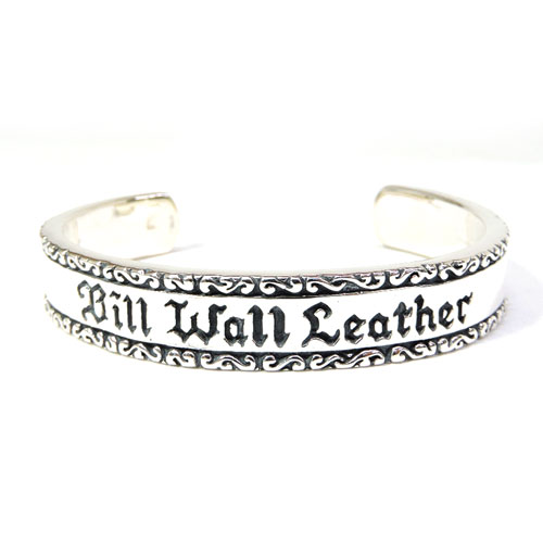 【BWL】Bill Wall Leather ビルウォールレザー【送料無料】/BWL上野限定/WAVE CYLINDER BANGLE ウエーブシリンダーバングル/バングル