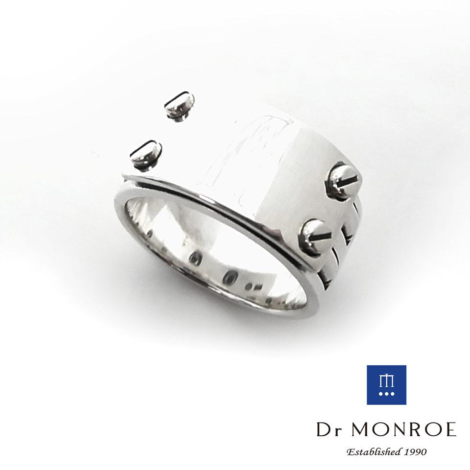 【Dr MONROE】ドクターモンロー シルバー メンズリング