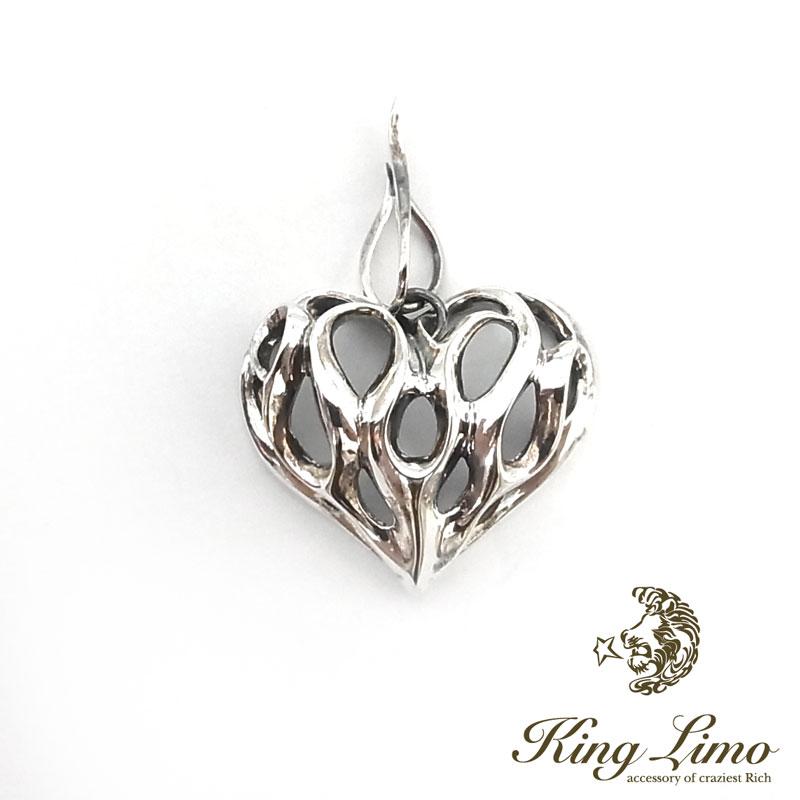 【KING LIMO】キングリモグラフィティファイヤーフレームシルバーペンダント