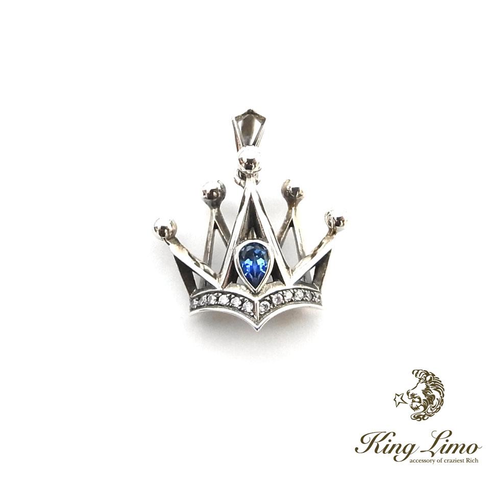 【KING LIMO】キングリモインペリアルクラウンシルバーペンダント