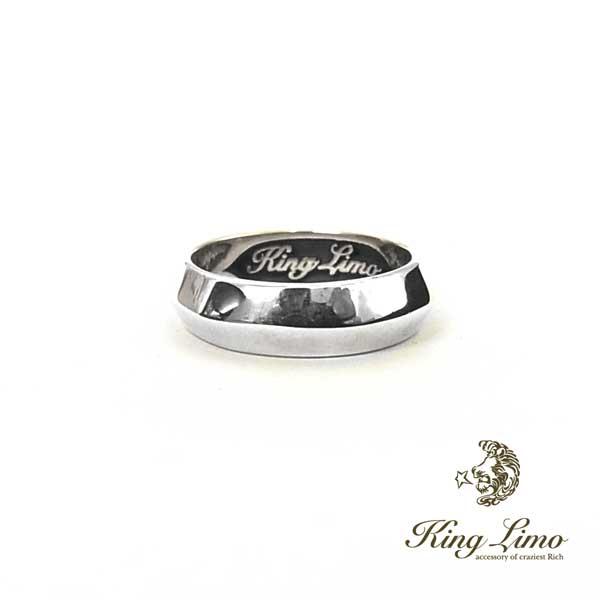 【KING LIMO】キングリモシャープエッジリング/シルバー