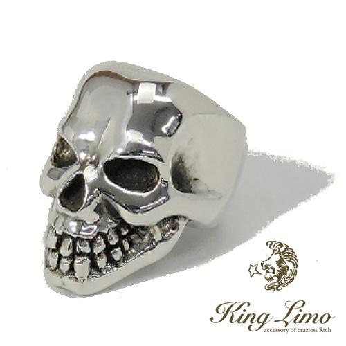 【KING LIMO】キングリモキングヘッドリング/シルバー/スカル