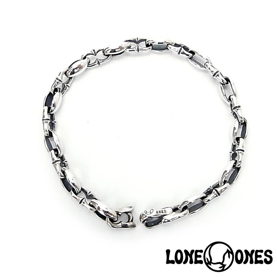 【LONE ONES】ロンワンズ【送料無料】【あす楽】/KF Bracelet: N (Deep Longing) ディープロンギング/XSサイズ/シルバーブレスレット