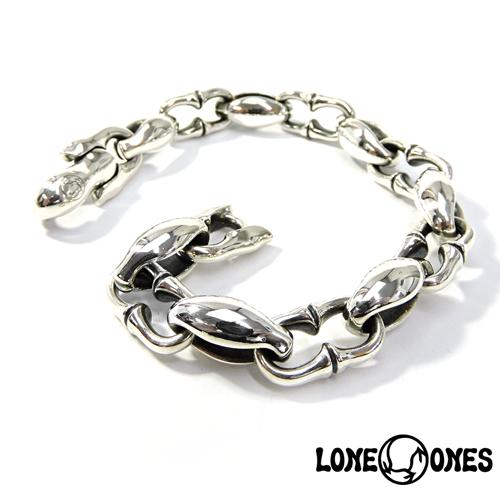 【LONE ONES】ロンワンズ【送料無料】【あす楽】/KF Bracelet: N (Deep Longing) ディープロンギング/Mサイズ/シルバーブレスレット