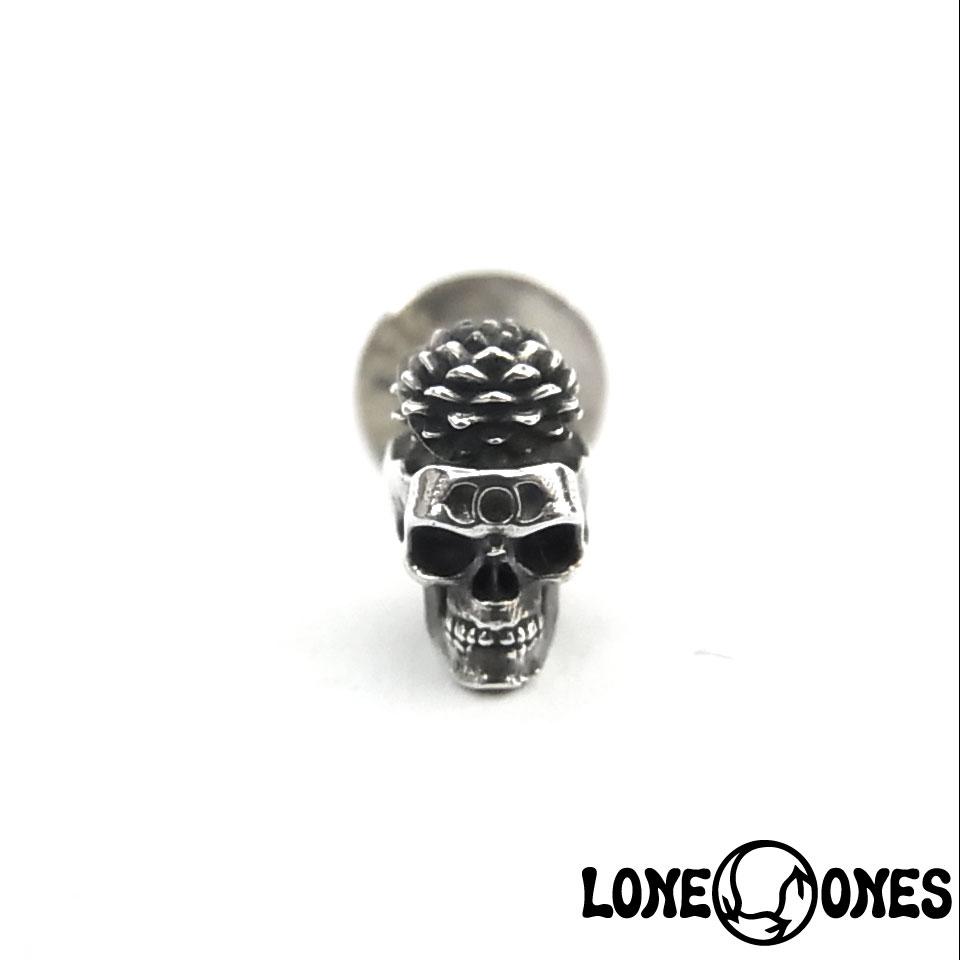 【LONE ONES】ロンワンズ【送料無料】【あす楽】/BN Earring: Samadhi - Large - 1pc サマディ ‐ラージ/シルバーピアス