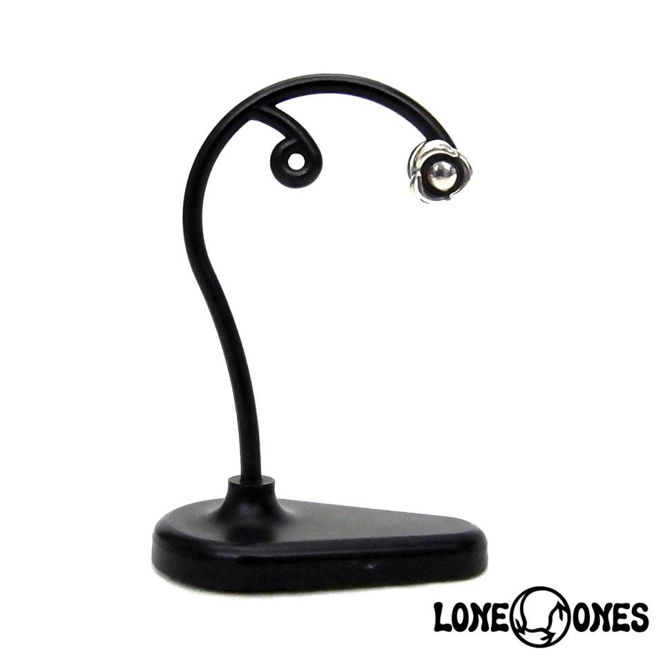 【LONE ONES】ロンワンズ【送料無料】【あす楽】/KF Earring: Flow (Hug Me) Stud - 1pc  フロー(ハグミー)スタッド/シルバーピアス