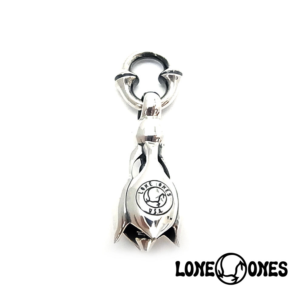 【LONE ONES】ロンワンズ【送料無料】【あす楽】/KF Pendant: Tear Bell -Mediuml ティアベル-ミディアム/シルバーペンダント