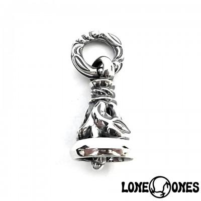 【LONE ONES】ロンワンズ【送料無料】【あす楽】/MF Pendant: Crane Bell - Medium/LK刻印/レナードカムフォート/ クレーンベル ミディアム/シルバーペンダント