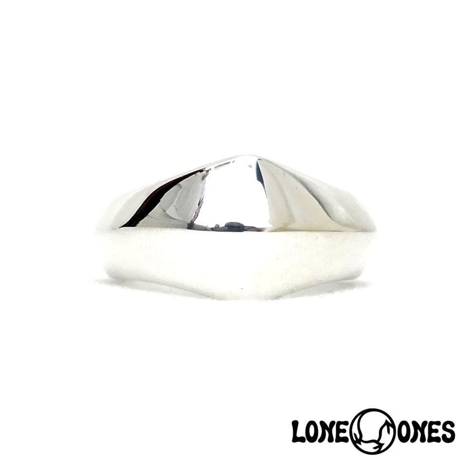 LONE ONES ロンワンズ 送料無料 MF Ring: Silk - Large シルクリング ラージ シルバーリング 送别会 法事 ハロウィン 成人式 運動会 七五三