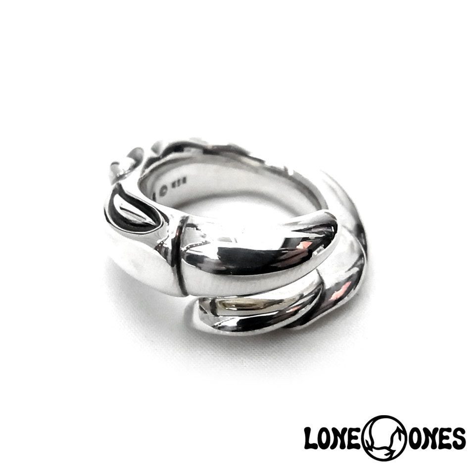 【LONE ONES】ロンワンズ【送料無料】【あす楽】/MF Ring: Snake Bird スネークバードリング/シルバーリング