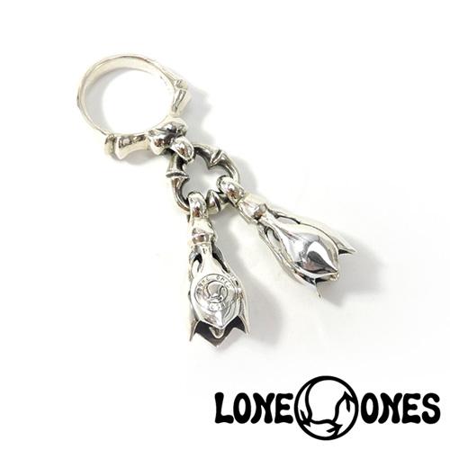 【LONE ONES】ロンワンズ【送料無料】【あす楽】/KF Ring: Two Tear Bell - Small 2ティアベル-スモールリング/シルバー/ティアベルスモールサイズ