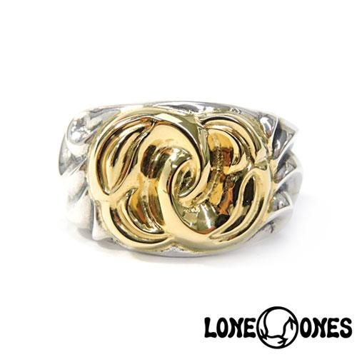 【LONE ONES】ロンワンズ【送料無料】【あす楽】/MF Ring: Cosmic Union Gold Birds コスミックユニオンリング/18Kゴールドバーズ/シルバー/18KG