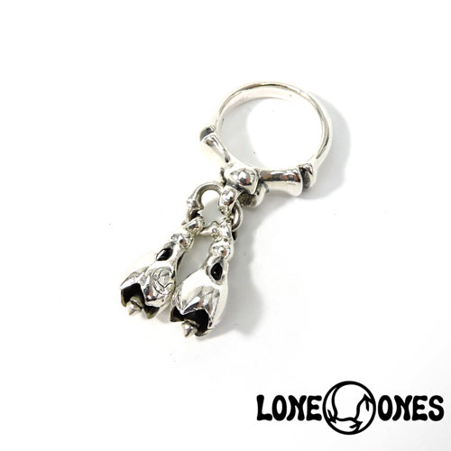 【LONE ONES】ロンワンズ【送料無料】【あす楽】/KF Ring: Two Tear Bell - Extra Small 2ティアベルXS-リング/シルバーリング