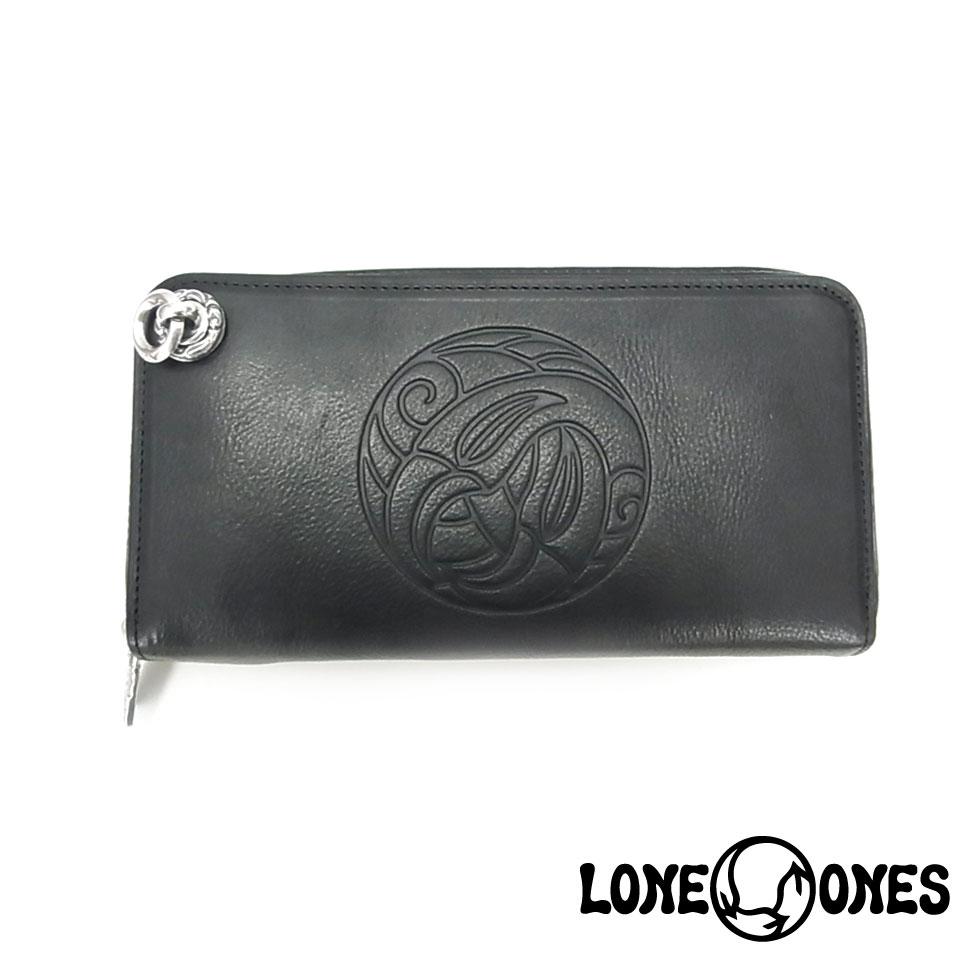 【LONE ONES】ロンワンズ【送料無料】【あす楽】/MF Wallet: Zipper Long Wallet (Nest & Logo) With Crane Hole MFウォレット:ジッパーロングウォレット(ネスト&ロゴ)w/クレーンホール/レザー/