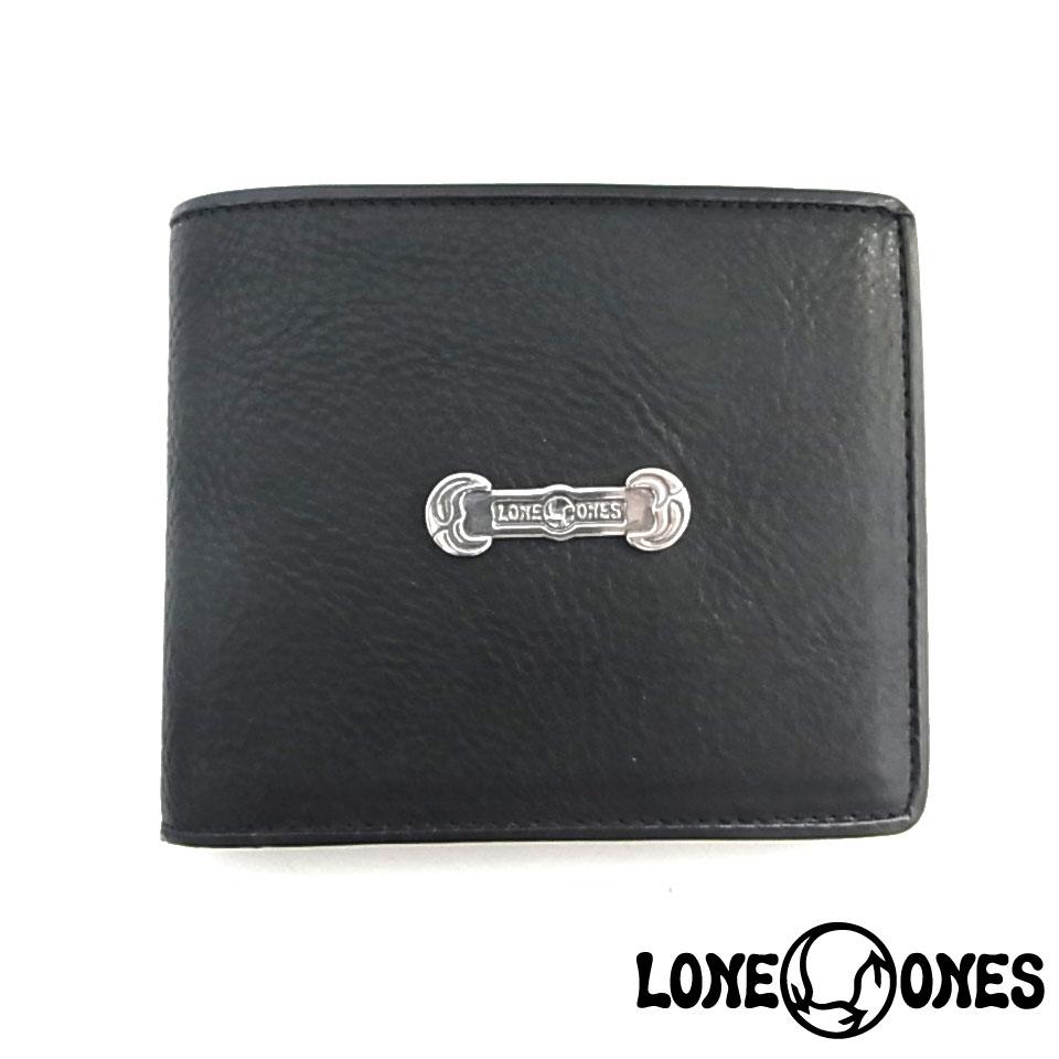 【LONE ONES】ロンワンズ【送料無料】【あす楽】/MF Wallet: 2 Fold Wallet (Silver Plate) MFウォレット2ホールドウォレット(シルバープレート)