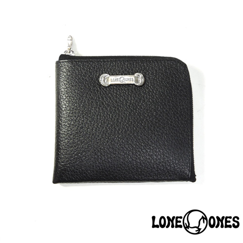 【LONE ONES】ロンワンズ【送料無料】【あす楽】/MF Wallet: Compact Wallet (Silver Plate) コンパクトウォレット(シルバープレート)/L字/ウォレット/レザー