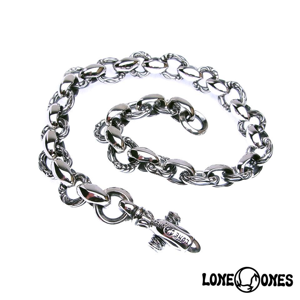 【LONE ONES】ロンワンズ【送料無料】【あす楽】/MF Chain: Heron - Long ヘロン-ロングチェーン/シルバーチェーン