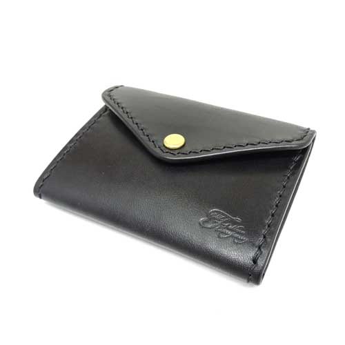 【OLD FELLOW COMPANY】【CARD CASE(A)】シングルマチ/オールドフェローカンパニー/国産ベンズレザー/イタリアンレザーカードケース