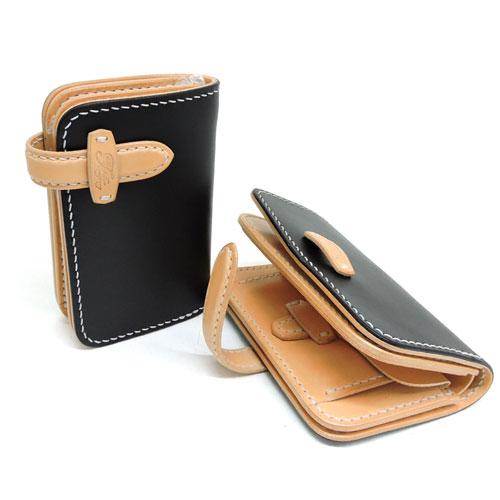 【OLD FELLOW COMPANY】オールドフェローカンパニー【MIDDLE WALLET(ST)】限定モデル/国産ベンズレザー/イタリアンレザーミドルウォレット/差し込み/中財布