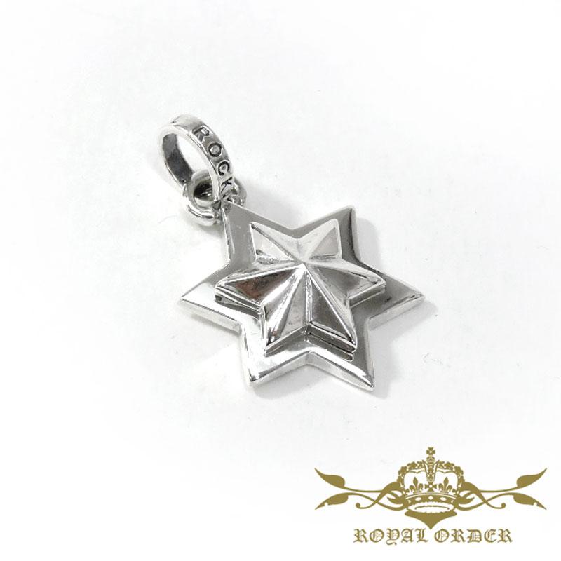 【ROYAL ORDER】ロイヤルオーダー【送料無料】【あす楽】/MOSES STAR モーセスター/シルバーペンダント