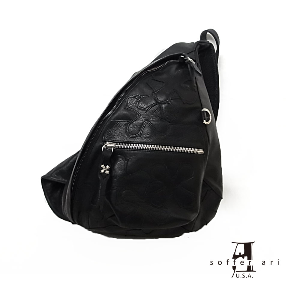 【Soffer Ari】ソファアリSMALL BACK PACK - BLACK