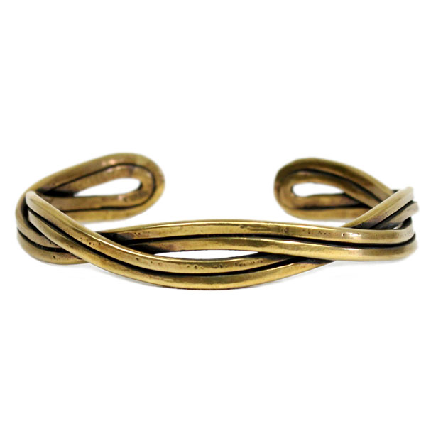 【VASSER】バッサーCalm Bangle Brass(カームバングルブラス)/バングル/真鍮/シンプル/メンズ/レディース