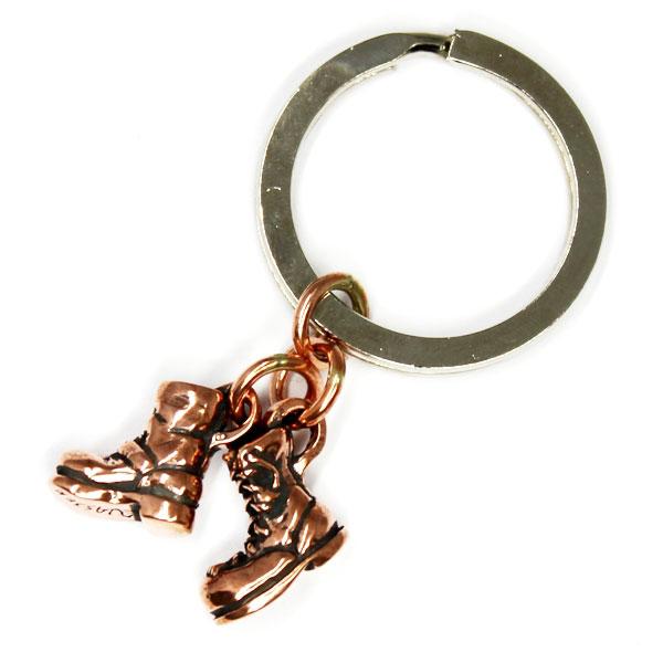 【VASSER】バッサー Biker Boot Cracker Key Chain Copper(バイカーブーツクラッカーキーチェーンコッパー)/キーチェーン/ブーツ/靴/銅/コッパー/シンプル/メンズ