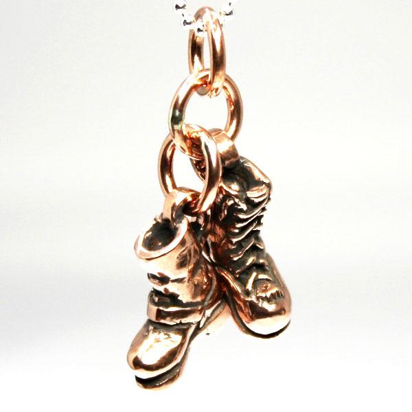 【VASSER】バッサー Biker Boot Cracker Pendant Copper w/Ball Chain(バイカーブーツクラッカーペンダントコッパー)/ペンダント/ブーツ/靴/銅/コッパー/チェーンセット/メンズ/レディース