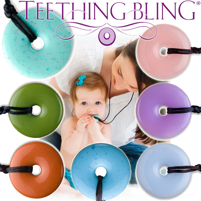 For teething Bling teeth and caked jewelry ★ necklace baby teeth