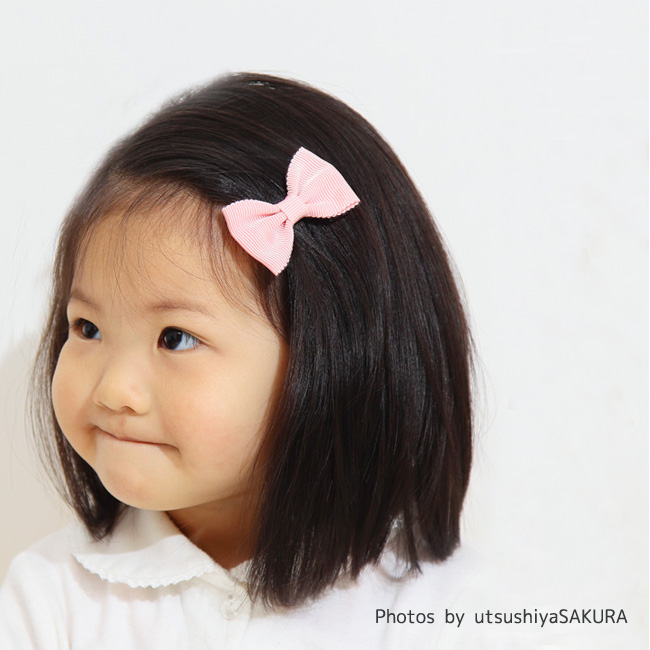 Kufuu Mimi Grosgrain Ribbon Hair Clip Only Non Slip Materials Made