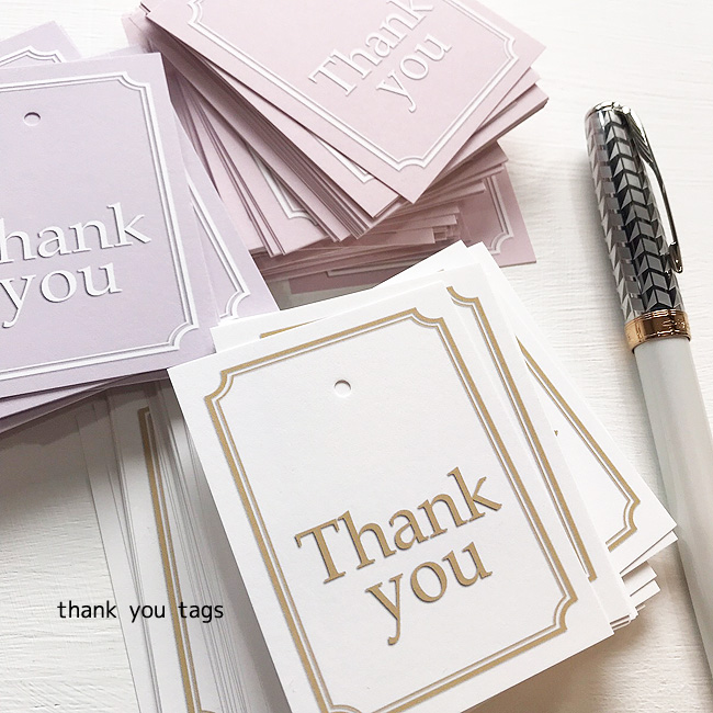 メッセージが書き込めます エスコートカード 日本製 Thank You Tags クラシカル 50枚入 サンキュータグ内祝い 結婚式 ありがとう ペーパータグ ギフトタグ 新作送料無料 サンキュータグ ステッカー サンキュー シール プチギフト 最新アイテム 紙タグ