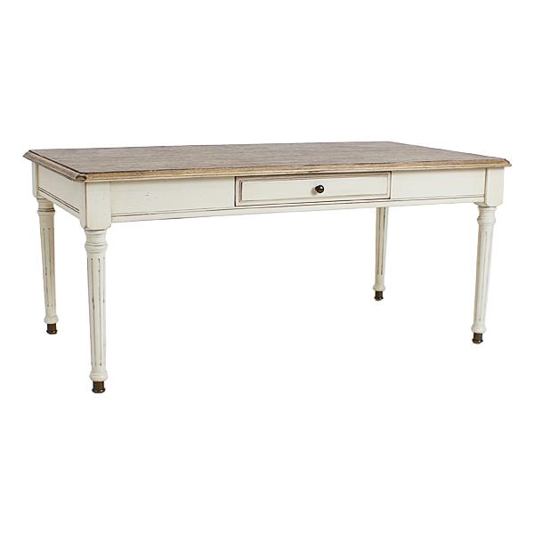 送料無料 新品 アンティーク調 サイドテーブル W約110×D約60×H約48.5cm ホワイト 引出し 引き出し 花台 アンティーク家具 木製 テーブル アンティーク風 アンティーク インテリア 家具 リビング サイドボード シャビーシック シャビー 白 antiqueh22wh