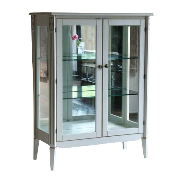 送料無料 新品 ホワイトロココ コレクションボード 飾り棚 完成品 6118 ホワイト