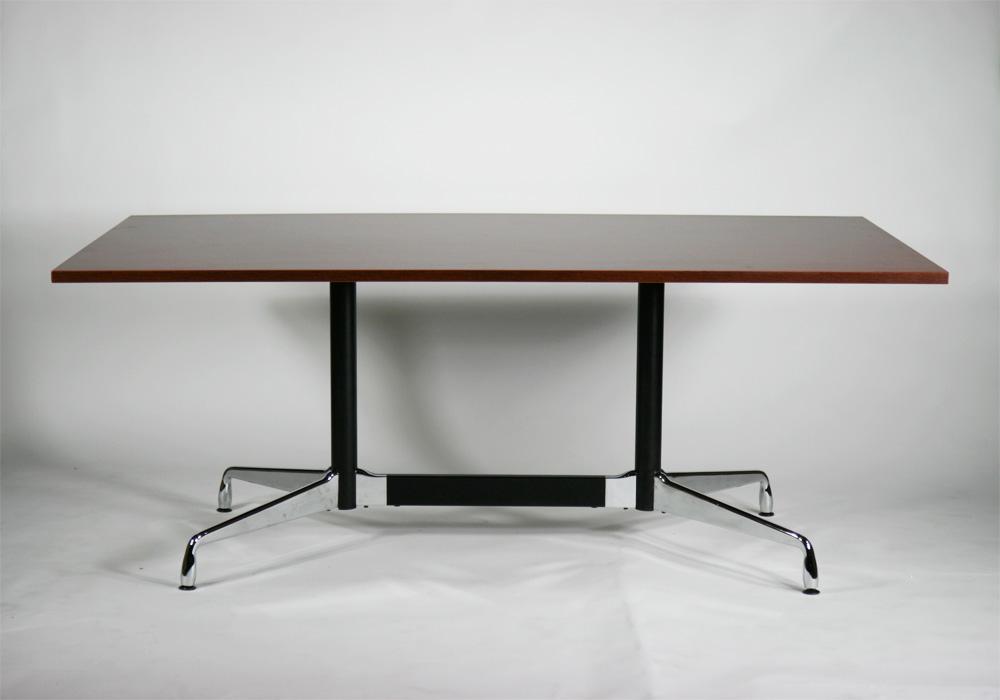 送料無料 新品 イームズ セグメンテッドベーステーブル イームズテーブル アルミナムテーブル W180×D100×H72 cm ローズウッド