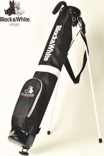ブラック&ホワイト ゴルフ Black&Whiteクラブケース レディース 2020春夏新作 送料無料46インチ対応 4.5型 1.0kg ブラック アンド ホワイトあす楽_翌日着荷可