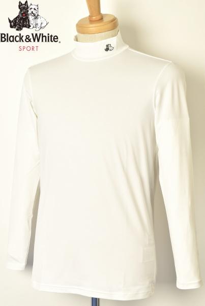 ランキング1位受賞!ブラック&ホワイト ゴルフ Black&Whiteハイネックシャツ メンズ 2020春夏新作 送料無料M-L-LL トップス ブラック アンド ホワイトあす楽_翌日着荷可